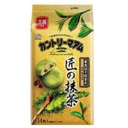 茶師十段 池田研太 監修 不二家「カントリーマアム(匠の抹茶)」販売開始
